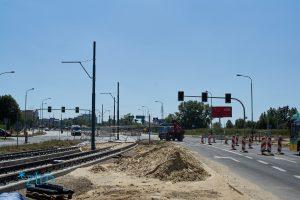 Prace drogowe na skrzyżowaniu Żegrze/Inflancka/Kurlandzka  Etap 5 – niedziela i poniedziałek, 11-12 sierpnia br.  Etap 6 – 14-19 sierpnia br. - Thumbnail
