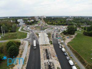 Zakończenie prac drogowych na skrzyżowaniu Żegrze/Inflancka/Kurlandzka - Thumbnail