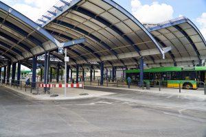 Zmiany na dworcu autobusowym przy rondzie Rataje – PRACE BUDOWLANE 4 i 7 WRZEŚNIA - Thumbnail