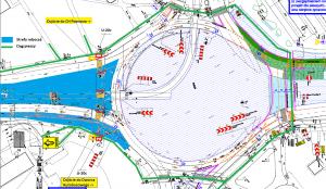 Planowane wyłączenie z użytkowania przejścia dla pieszych w dniu 08.03.2021 r. na ul. Zamenhofa przy tarczy ronda Rataje - Thumbnail